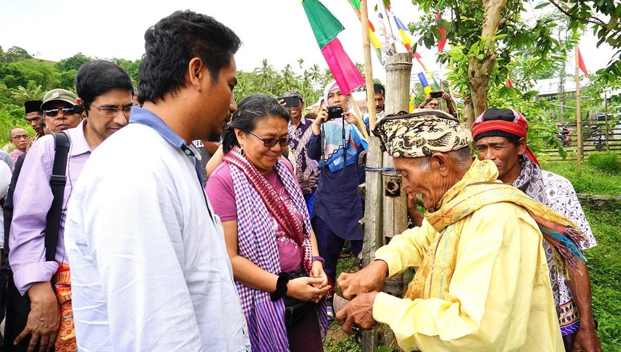 Gambar dari judul : Kunjungan Lapang Support Mission DGM-I di Sumbawa